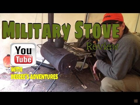 Military Stove Review  (Wood Burning)