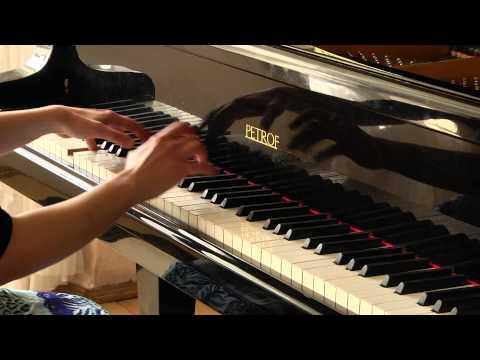 J.S.Bach .Partita BWV 825  Gigue | Wyk. Urszula Świerczyńska - Fortepian