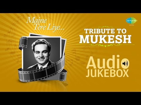 Best Of Mukesh | Sad Songs Collection | Jis Gali Mein Tera Ghar | Audio Jukebox