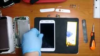 Huawei Ascend G7 disassembly and repair screen