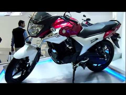 Yamaha SZ-R at Auto Expo 2012, New Delhi, India