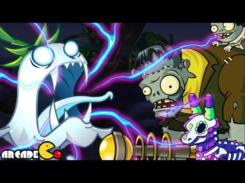Plants Vs Zombies 2: Halloween Lawn Of Doom Pinata Party Night 3 Halloween Gargantuar 10 26