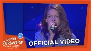 MARIANA VENÂNCIO - YOUTUBER - PORTUGAL 🇵🇹 - OFFICIAL VIDEO - JUNIOR EUROVISION 2017