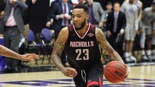Men's Basketball - Nicholls 87, UCA 83 (Mini-Melt)