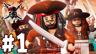 LEGO Pirates of the Caribbean - Episode 01 - Jack Sparrow (HD Gameplay Walkthrough)