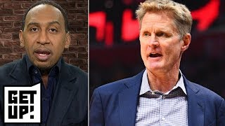 Stephen A. 'not concerned at all' about Warriors' struggles | Get Up!