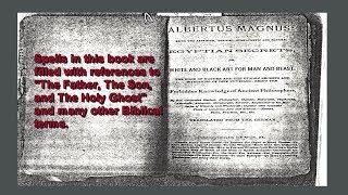 Egyptian Secrets Occultic Spell Books White Black Magic Witchcraft Albertus Magnus