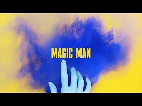SKYGGE - Magic Man (Lyrics Video) / COMPOSED WITH AI