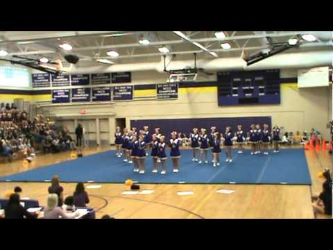 Ellington Middle School Cheerleading - Routine