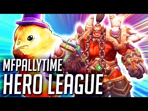 MFPallytime HotS Hero League Time | Heroes of the Storm Hero League Not Solo Queue Gameplay