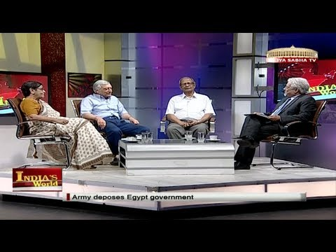 India's World - Army deposes Egypt government