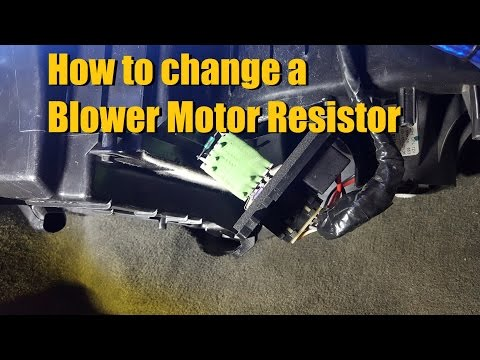 How to change a Blower Motor Resistor (Chevy Silverado)