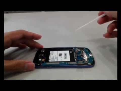 SAMSUNG Galaxy S3 i9300 repair fix 拆機教學 拆機影片 維修教學 液晶破裂  無法開機