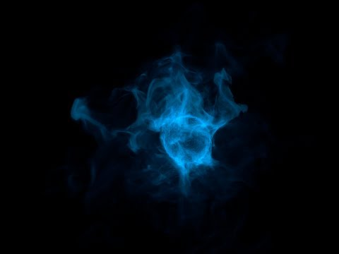 CINEMA 4D - Energy effect - (TurbulenceFD ) Tutorial