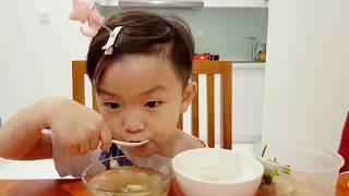 호치민에서 한식을?? 아기먹방 babymukbang, Em bé Hàn Quốc