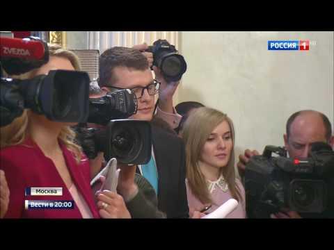 Россия 24 о встрече Игоря Додона и Ирины Влах с Владимиром Путиным