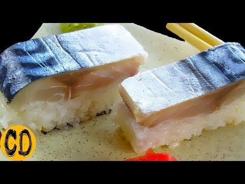 Настоящие японские домашние Суши со скумбрией. Идеальный рецепт. Получаются с первого раза. Cooking