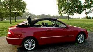 Mercedes Benz CLK 350 Convertible Promo Video