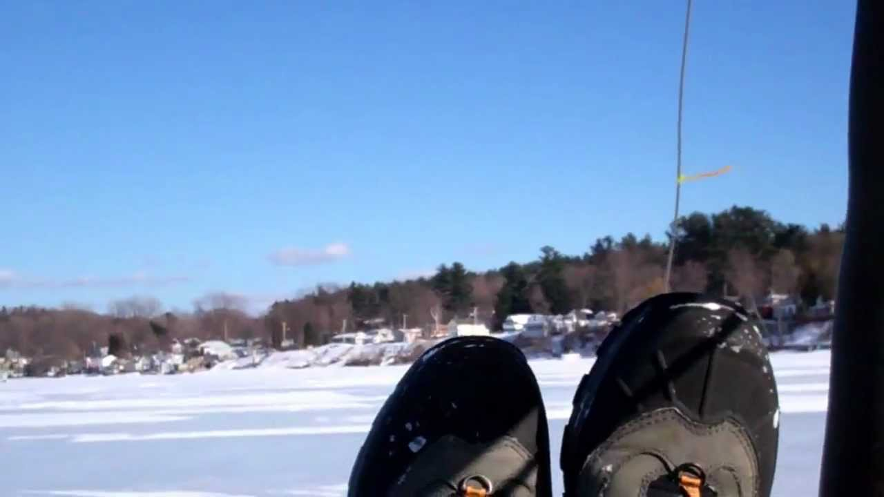 Ice boating lake champlain speed run youtube for Fishing license vt