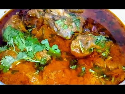 MUTTON ROGHAN JOSH RECIPE by kitchen counter