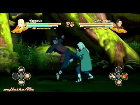 Naruto Ultimate Ninja Storm 3 Tsunade vs Hashirama Senju