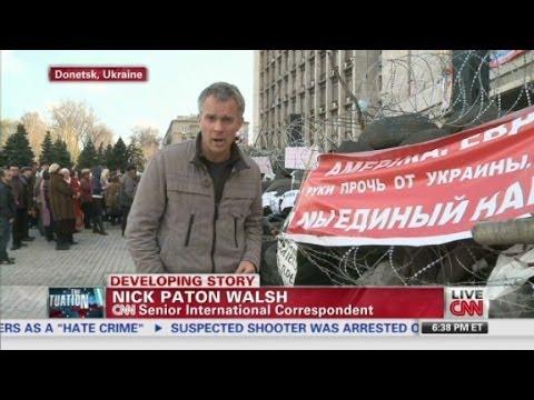 Unrest spreads in eastern Ukraine