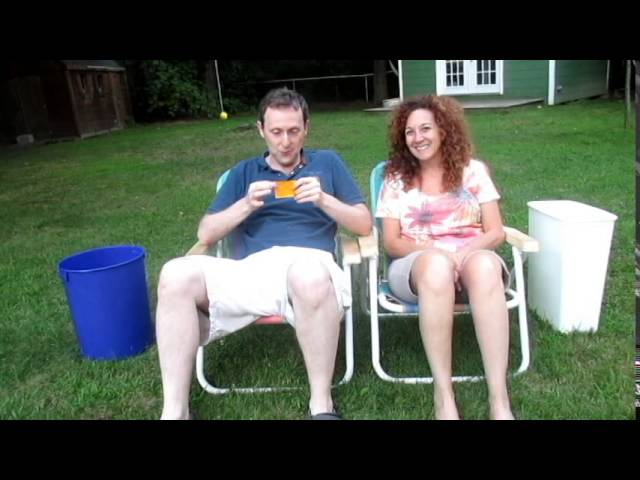 Mark and Karen Take the ALS Ice Bucket Challenge 20140817