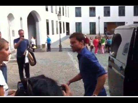 Xabi Alonso Exklusiv: Hier kommt der Spanier in München an!!!