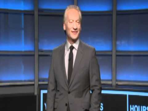 Low-brow: Bill Maher says Sarah Palin is a  dumb twat