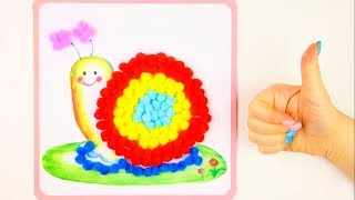 Learn Colors Play Doh Balloons Kinetic Sand DIY Creative Education Video For Kids Learn Numbers
