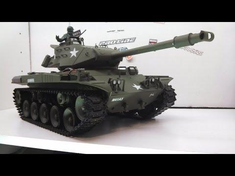 LARCCAWLER25: U S M41A3 Walker BullDog RC Tank