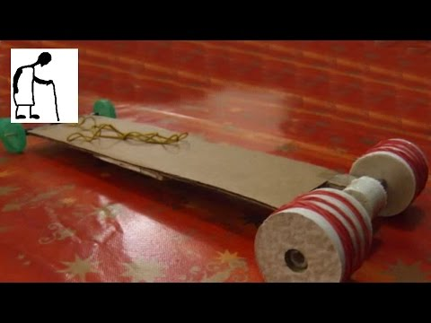 Lets make a Rubber Band powered Car #2