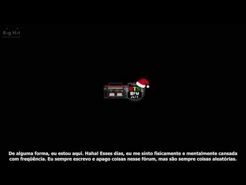 [BTS 꿀 FM 06.13] Natal 2014 especial 'Voice Radio' [Legendado PT-BR]