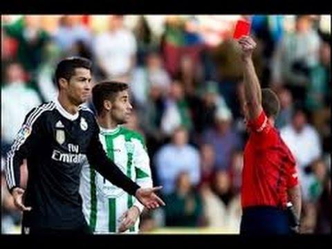 Cristiano Ronaldo all red cards HD