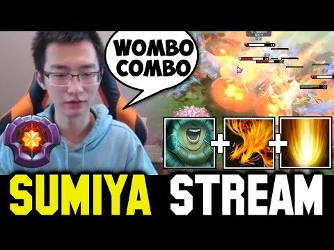 SUMIYA Invoker Wombo Combo Hard Game | Sumiya Invoker Stream Moment #319