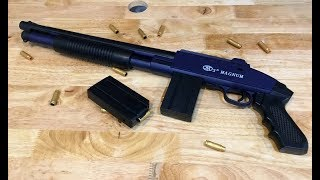 Realistic toy gun   the magnum shotgun