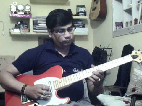 Dil ke tukde tukde karke on Guitar