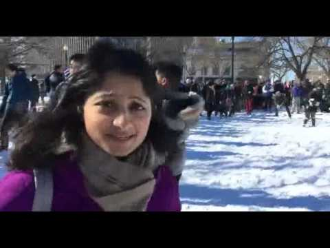 Top News: US snowstorm Huge snowball fight in Washington DC