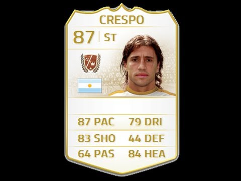 FIFA 14 NEXT GEN LEGEND CRESPO 87 Player Review & In Game Stats Ultimate Team