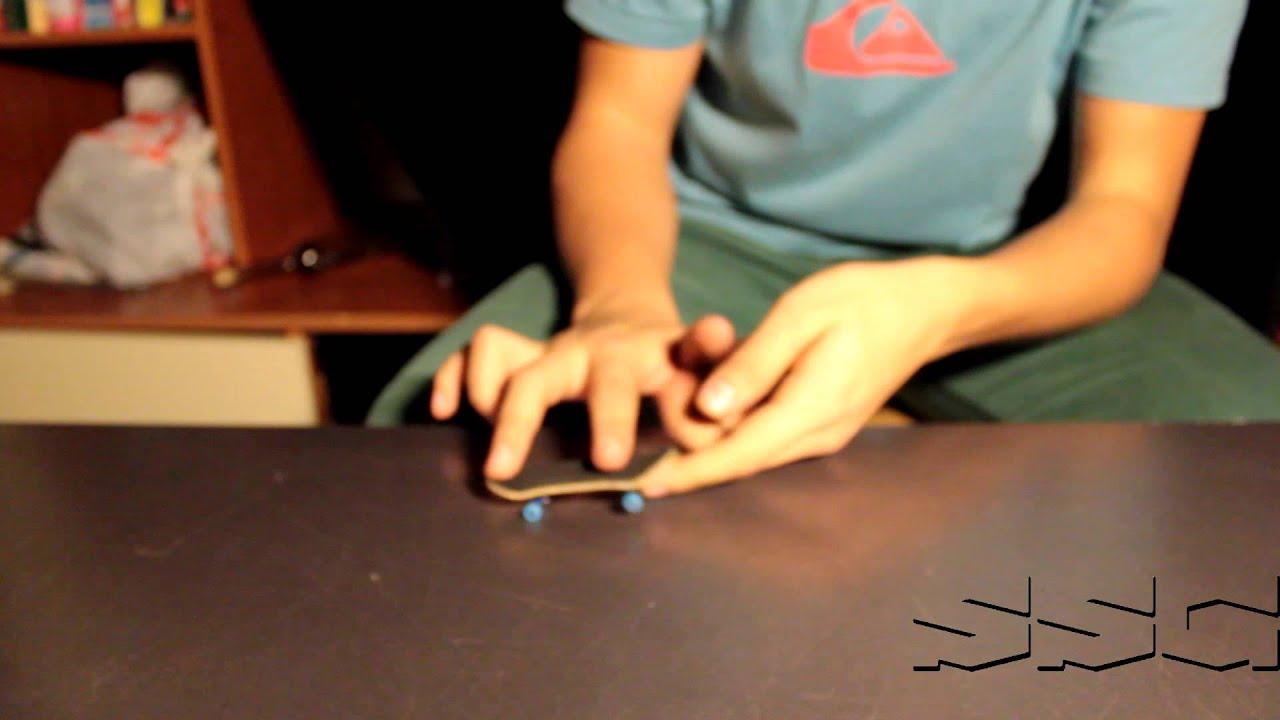 Как сделать трак на фингерборде