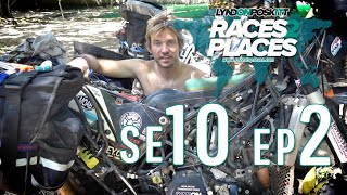 Races To Places SE10 EP02 - Adventure Motorcycling Documentary Ft. Lyndon Poskitt