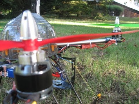 Quadricopter Turnigy H.A.L camera test