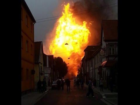 Una explosión de gas estremece una ciudad en Alemania