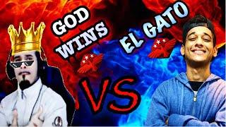 GOD WINS VS EL GATO X1 DOS MESTRE PARTIDA 1 MELHOR DE 3. FREE FIRE