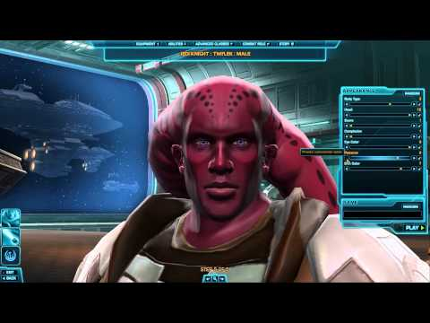 [Star Wars] Character Creation: Twi'Lek Male & Female (Republic)