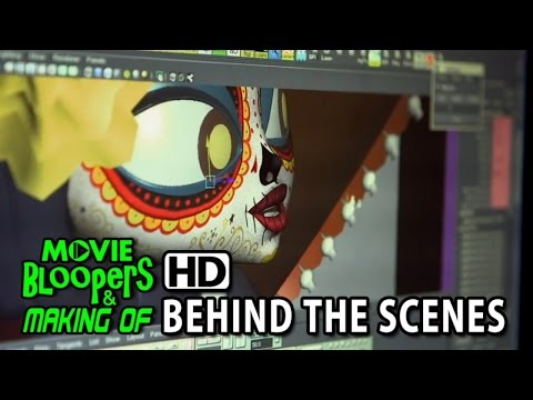 The Book of Life (2014) Making of & Behind the Scenes - How the movie was animated