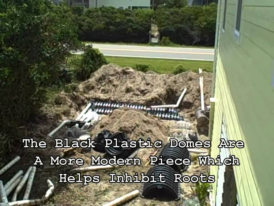 Replacing A Septic Drain Field Youtube