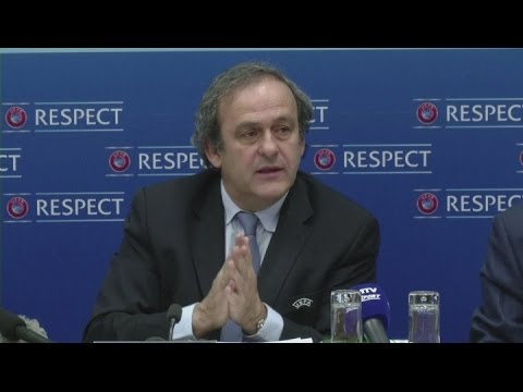 Russia and Georgia happy to play each other - Platini