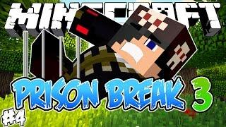 PARKOUR NA PRISÃO! - PRISON BREAK 3 - Minecraft #4