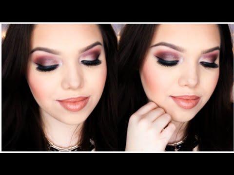 Cranberry Smokey Eye | Jaclyn Hill Favorites Palette